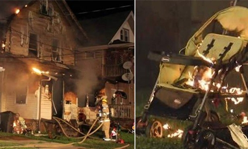 Five children killed in fire at a US daycare