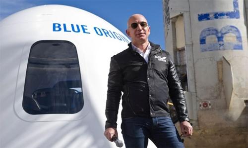 Blue Origin goes to court against NASA