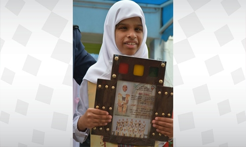 Zainab is the success story of a visually impaired Bahraini student