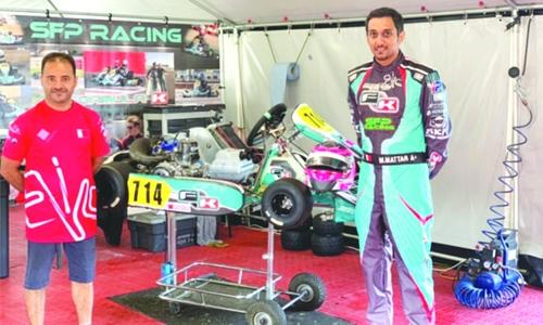 Bahrain's Mattar to compete in karting finals