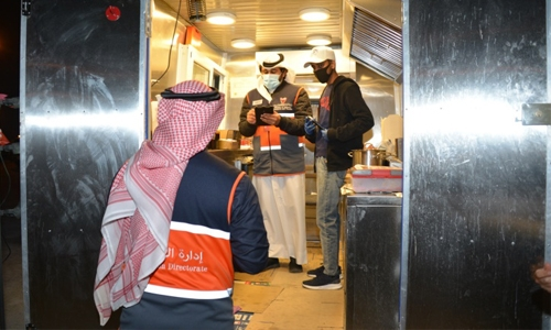 Food trucks in Bahrain inspected for safety standards