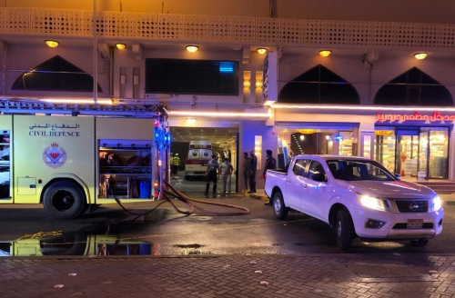 Deadly restaurant blaze kills a woman, injures two in Sanabis