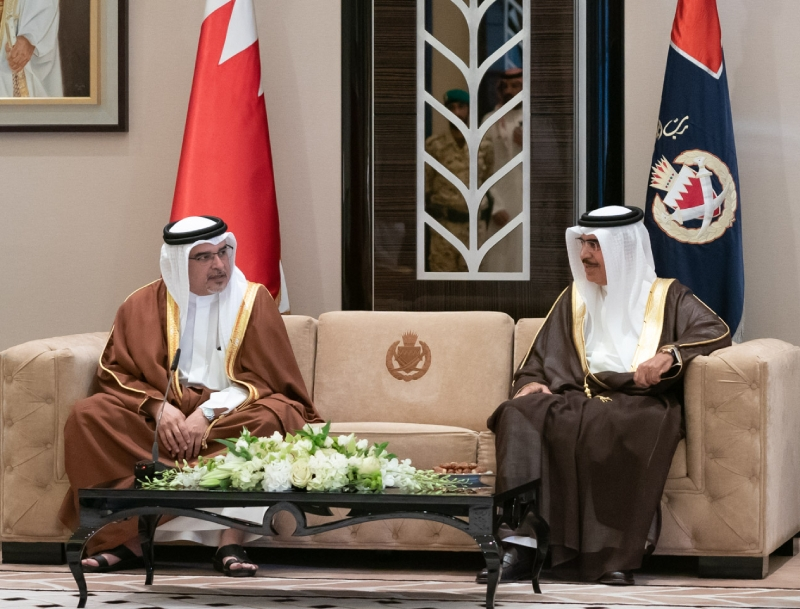 HRH the Crown Prince hails vital role of Interior Ministry