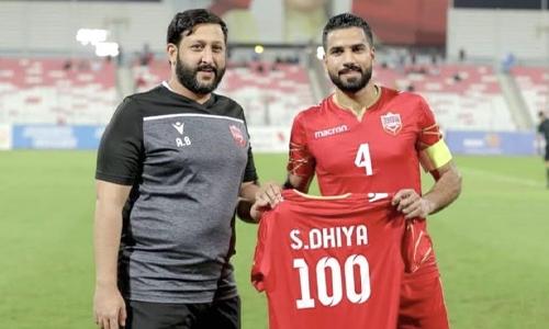 Bahrain skipper Saeed joins exclusive FIFA Century Club