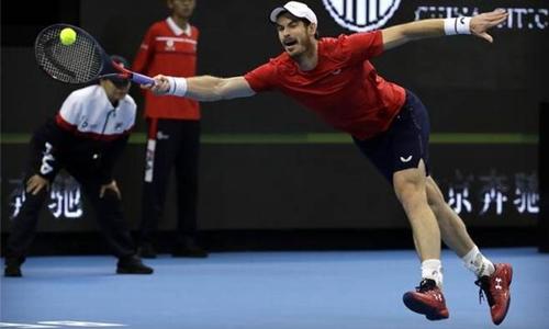 Murray heartened by progress despite loss