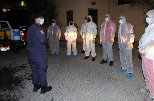Precautionary sanitisation operations stepped up