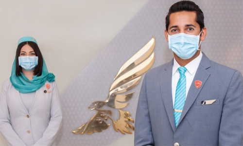 Gulf Air flights operated by vaccinated crew starting Eid