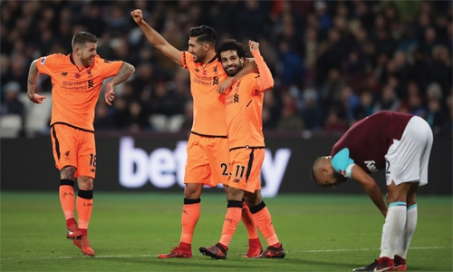 Four goal Liverpool see off West Ham