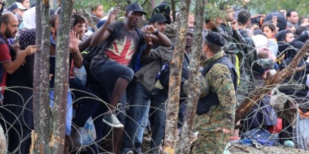 5,600 migrants crossed into Macedonia from Greece on Thursday: UN