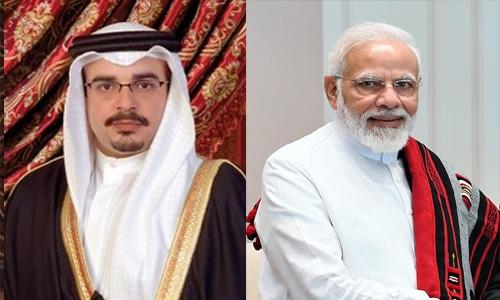 HRH Prince Salman sends letter to India Prime Minister Modi