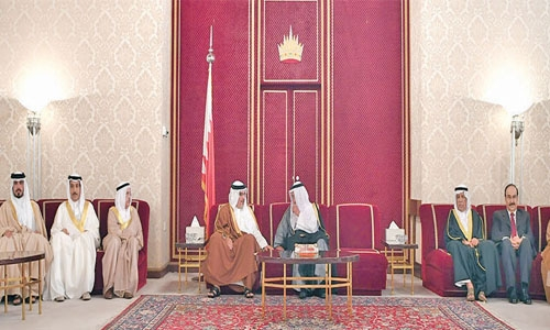 Crown Prince holds Majlis