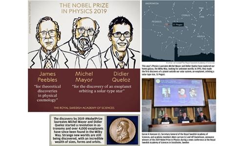 Nobel Physics honours dark matter, exoplanets