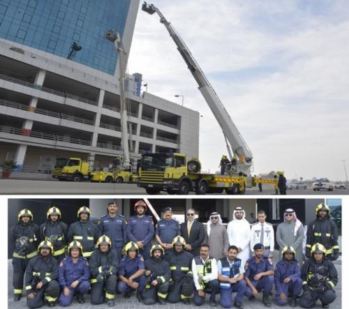 Civil Defence holds firefighting and rescue exercise in Juffair