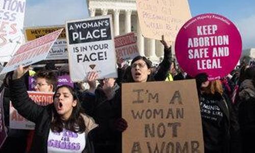 Hundreds protest strict Alabama abortion law