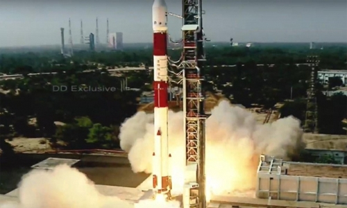 India: Isro launches PSLV-C51 carrying Brazil's Amazonia-1 and 18 other satellites