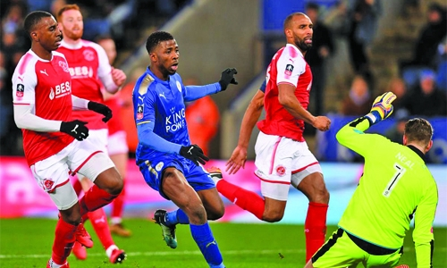 Leicester advance to FA Cup fourth round
