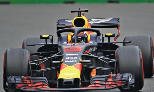 Azerbaijan GP: Ricciardo tops second practice