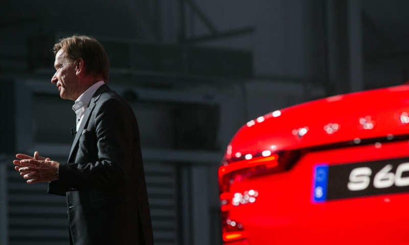 Volvo Cars drops IPO plans on trade tensions