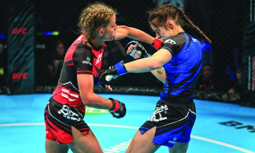 Brave announces women's bout in Brazil
