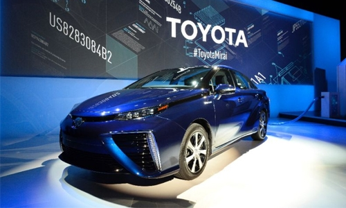 Toyota recalling fuel-cell Mirai vehicles