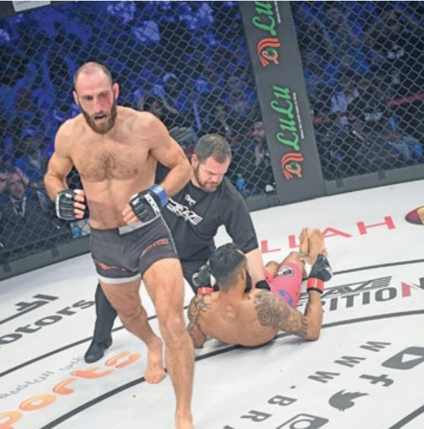 Guram relishes bout against home country hero