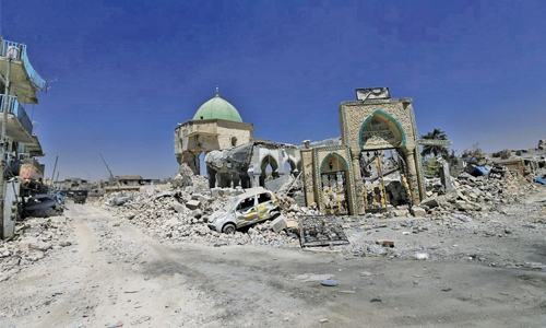 UAE to rebuild Mosul's Al Nuri Mosque and historic minaret