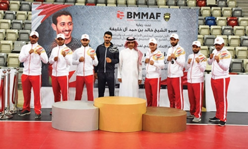 Bahrain open winners crowned