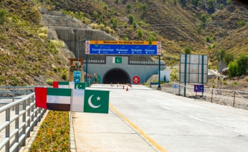 Pakistani PM inaugurates Sheikh Mohamed bin Zayed Road in Pakistan