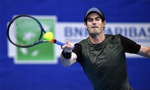 Murray sweeps into Antwerp quarters