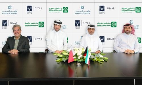 Kuwait Finance House Bahrain signs MoU with Eagle Hills Diyar