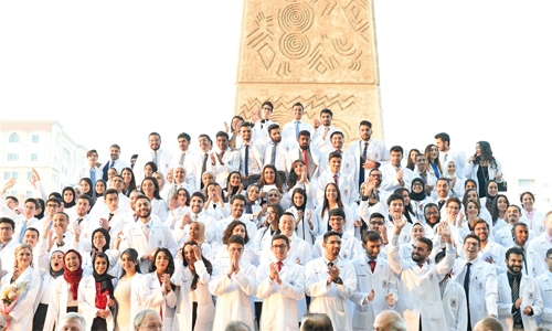 RCSI Bahrain celebrates white coat ceremony
