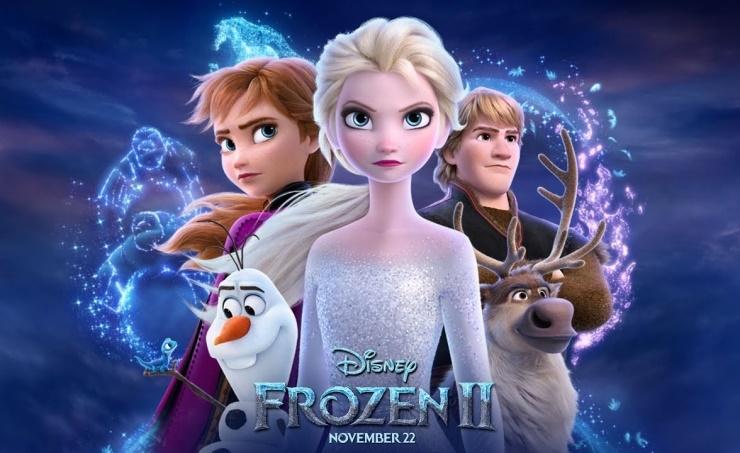 'Frozen 2' wins Thanksgiving box office