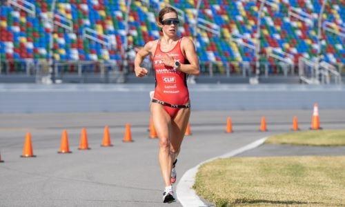 Bahrain Endurance 13's Holly Lawrence wins 70.3 Ironman Des Moines race
