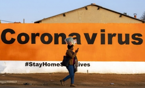 South Africa reports record daily infections