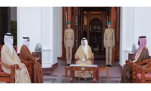 Bahrain on the path to recovery, says HM King
