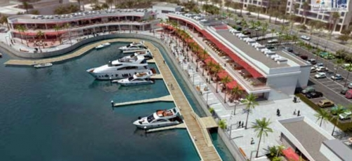 Durrat Marina to Re-Start substation works for Marina retail strip