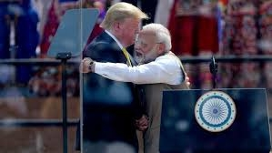 India set to welcome Trump