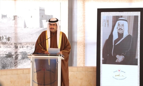HH Southern Governor launches 'Riffa Glory' book