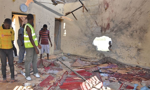 Nigeria mosque attack: suicide bomber kills dozens