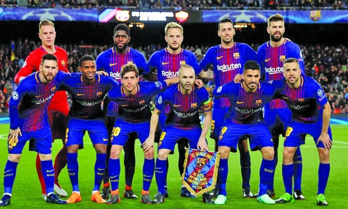 Barcelona set for title party