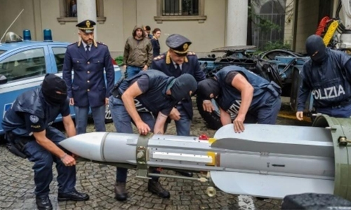 Italy seizes Qatari army missile from far-right sympathisers