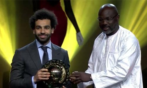Salah retains crown