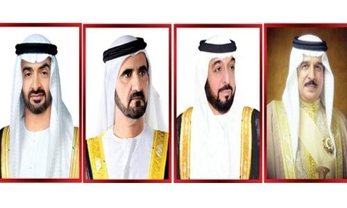 HM King condoles with UAE leaders