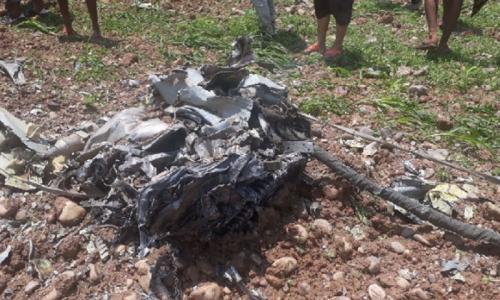 Indian Air Force pilot dies in jet fighter crash