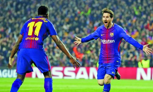 Dembele, Messi partnership fuelling goal rush