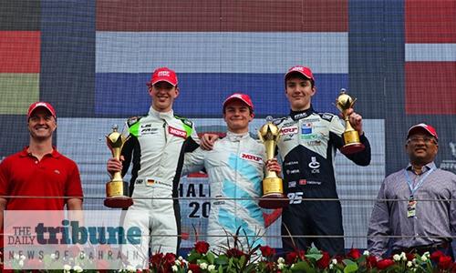 Schumacher, Viscaal win in MRF Challenge