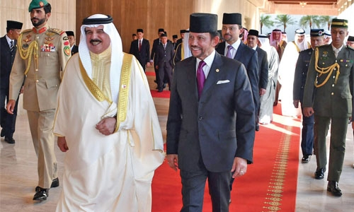 Bahrain to bolster ties with Brunei