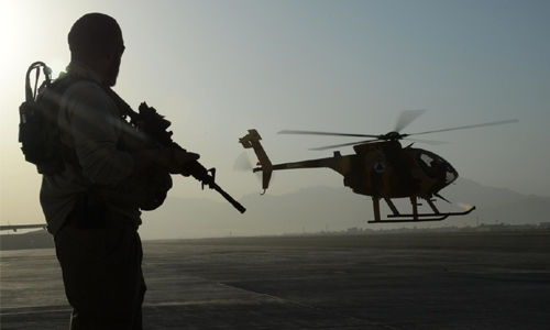 Time to get out of Afghanistan