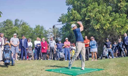 AMH Golf Tournament begins in style
