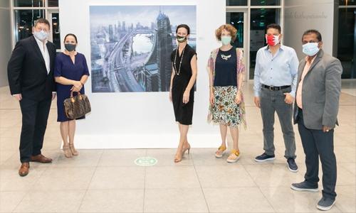 Harbour Gate presents 'Bahrain Boulevard' exhibition featuring Indian artist Anil Sharma's unique paintings